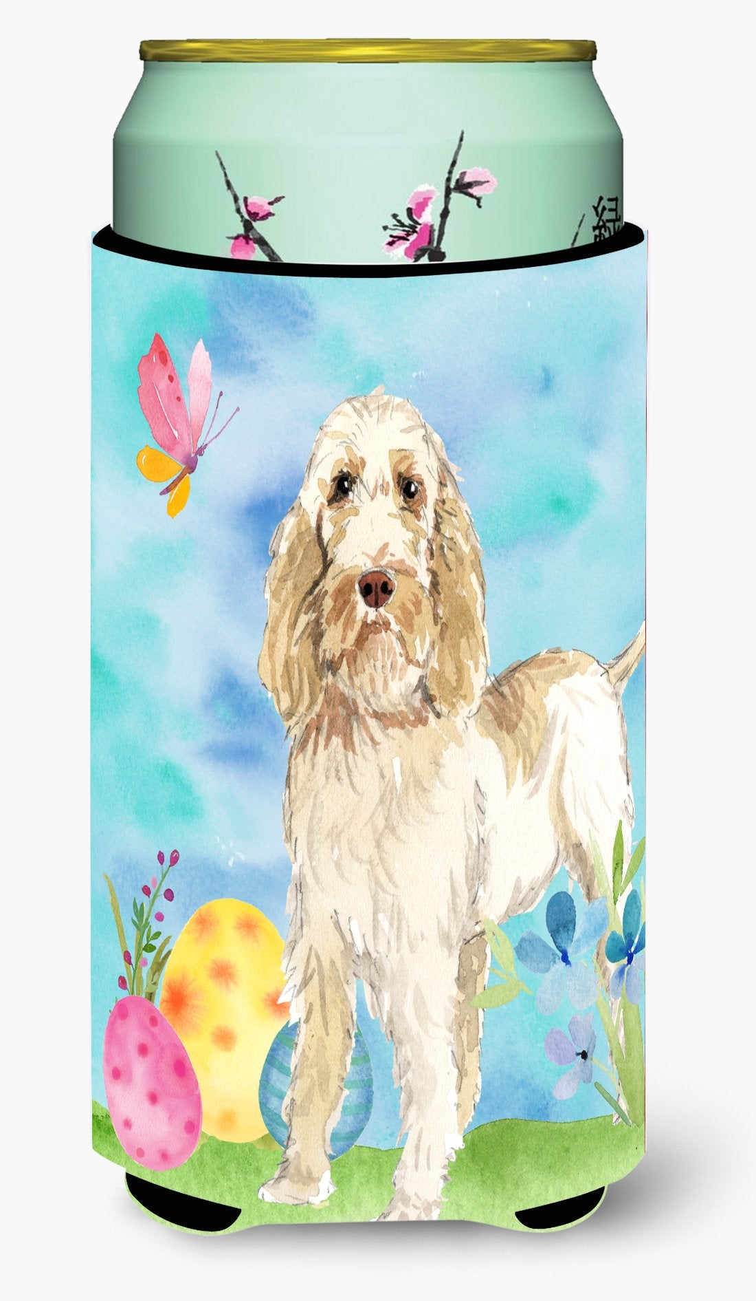 Easter Eggs Spinone Italiano Tall Boy Beverage Insulator Hugger CK1897TBC by Caroline's Treasures