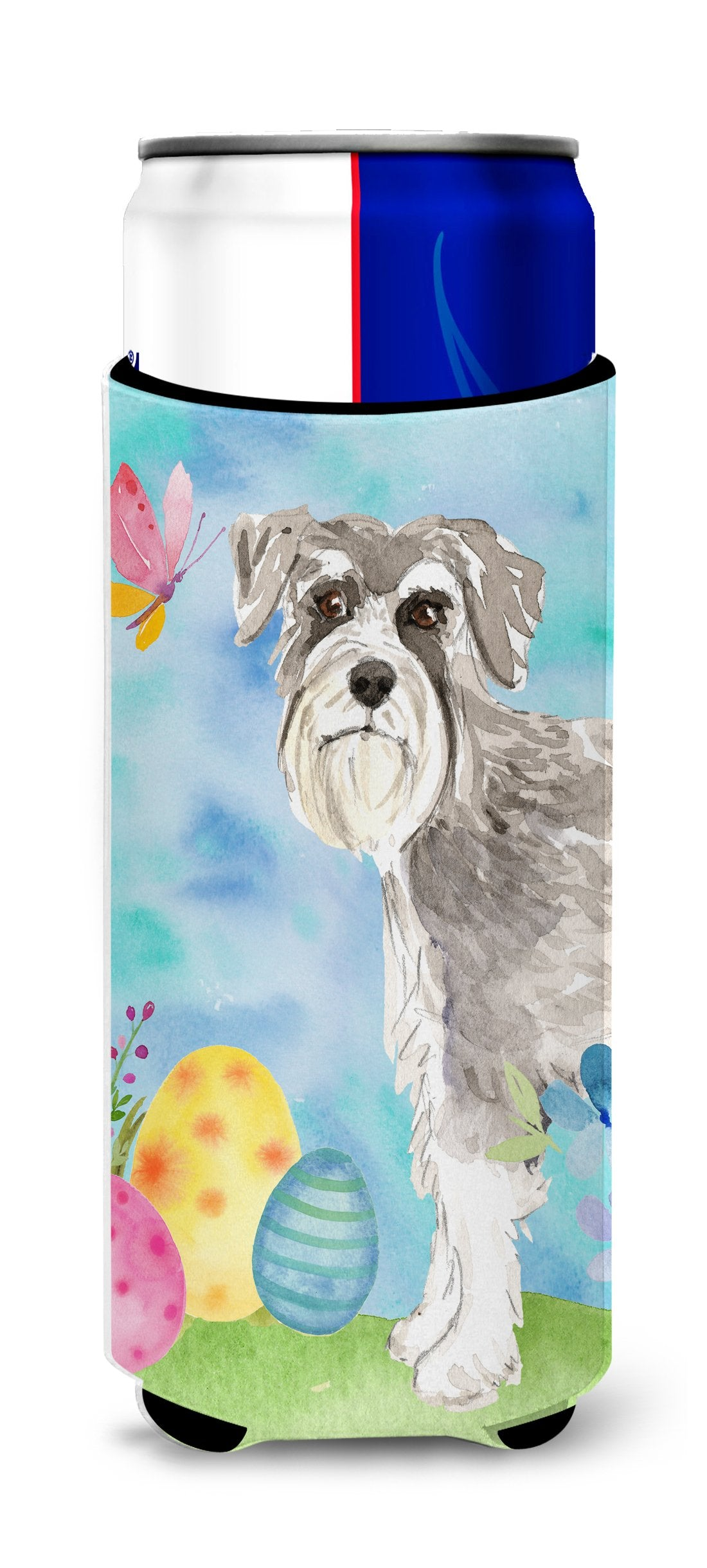 Easter Eggs Schnauzer #1 Michelob Ultra Hugger for slim cans CK1903MUK by Caroline's Treasures