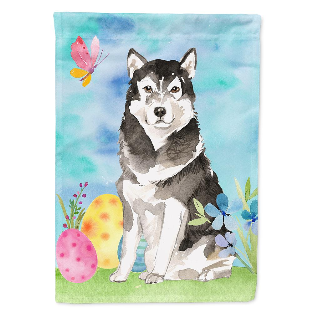 Buy this Easter Eggs Alaskan Malamute Flag Garden Size CK1909GF