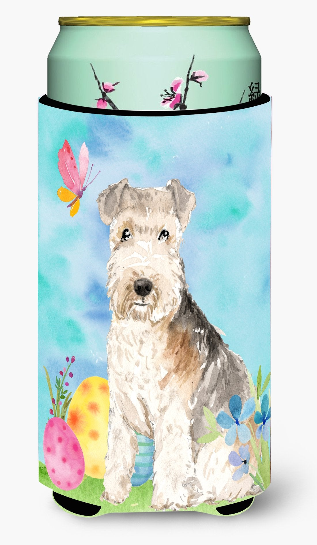 Easter Eggs Lakeland Terrier Tall Boy Beverage Insulator Hugger CK1910TBC by Caroline's Treasures