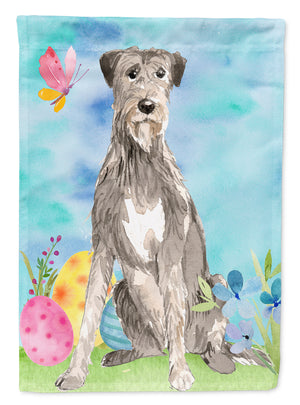 Buy this Easter Eggs Irish Wolfhound Flag Canvas House Size CK1913CHF