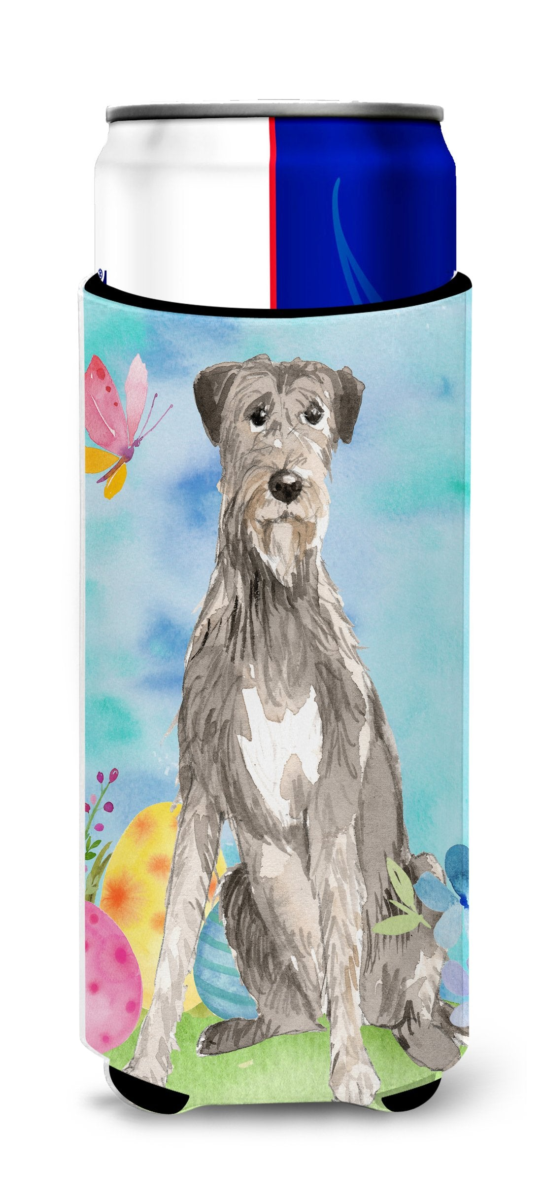 Buy this Easter Eggs Irish Wolfhound Michelob Ultra Hugger for slim cans CK1913MUK