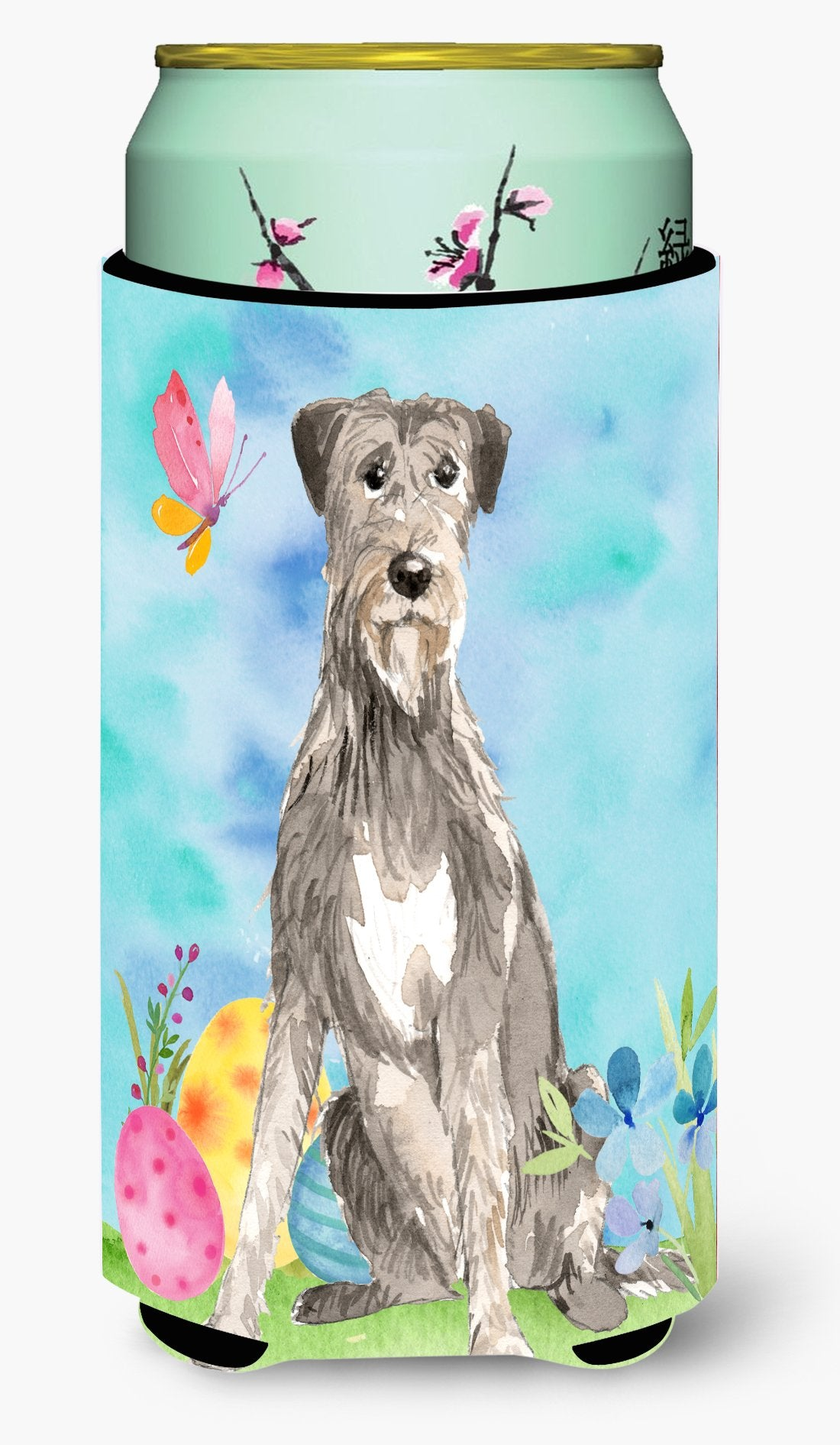 Easter Eggs Irish Wolfhound Tall Boy Beverage Insulator Hugger CK1913TBC by Caroline's Treasures