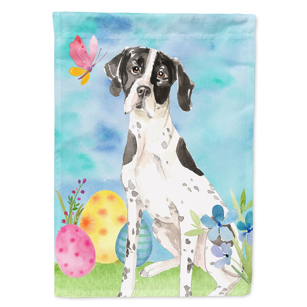 Buy this Easter Eggs English Pointer Flag Garden Size CK1917GF