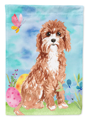 Buy this Easter Eggs Cavapoo Flag Garden Size CK1918GF