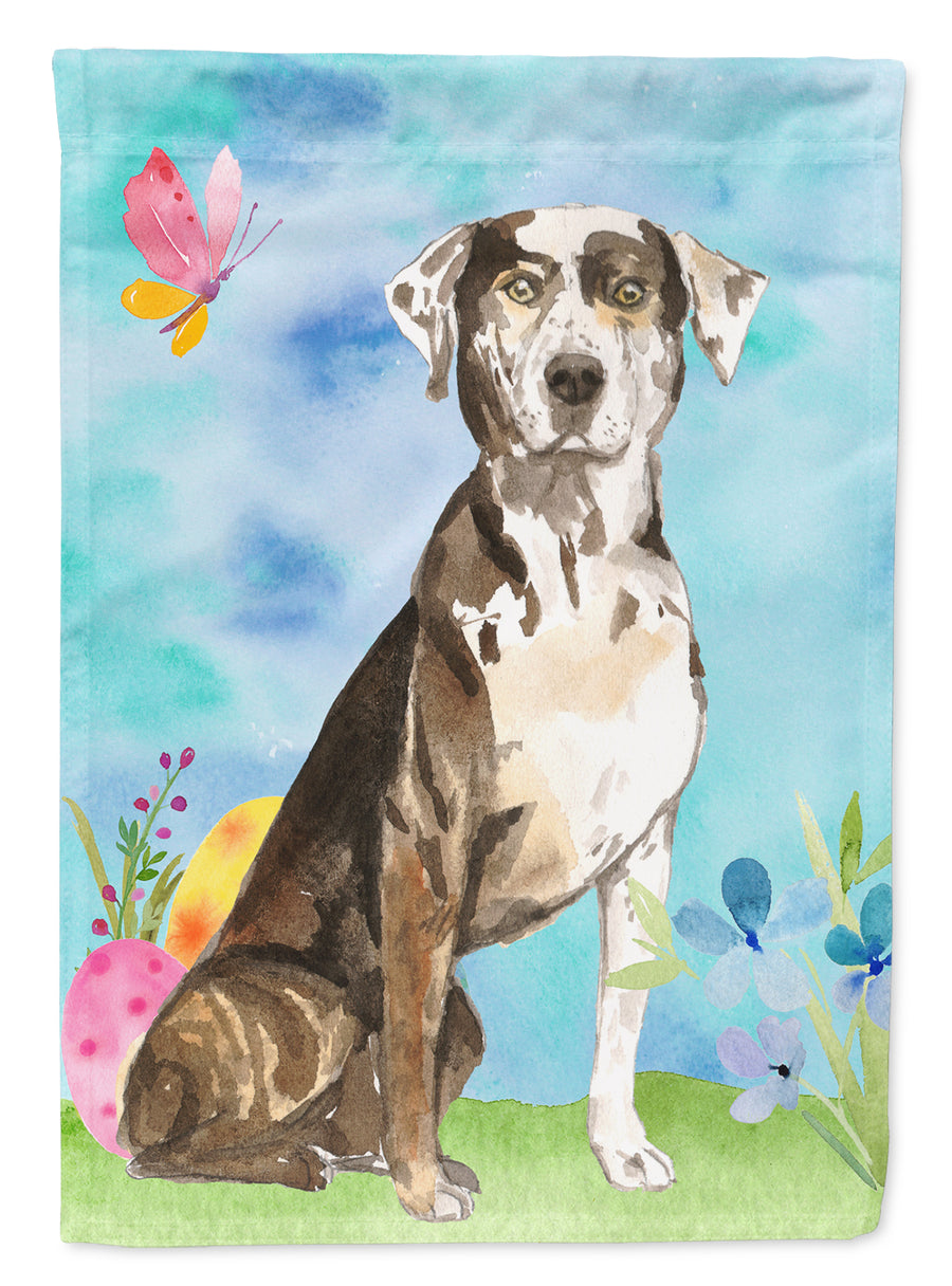 Buy this Easter Eggs Catahoula Leopard Dog Flag Canvas House Size CK1919CHF