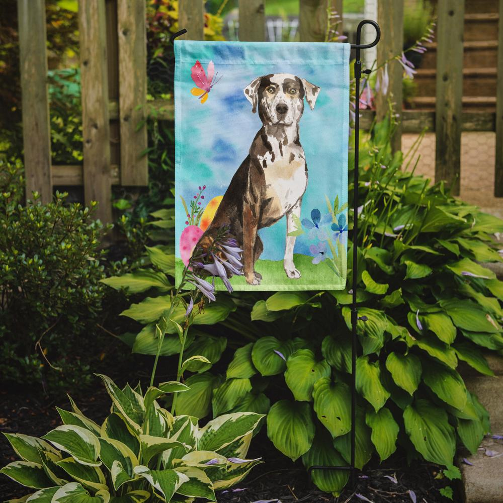 Easter Eggs Catahoula Leopard Dog Flag Garden Size CK1919GF by Caroline's Treasures