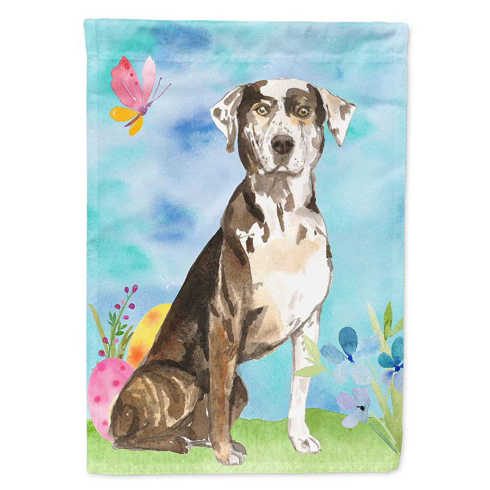 Buy this Easter Eggs Catahoula Leopard Dog Flag Garden Size CK1919GF