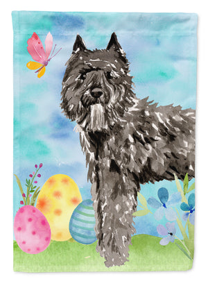 Buy this Easter Eggs Bouvier des Flandres Flag Canvas House Size CK1922CHF