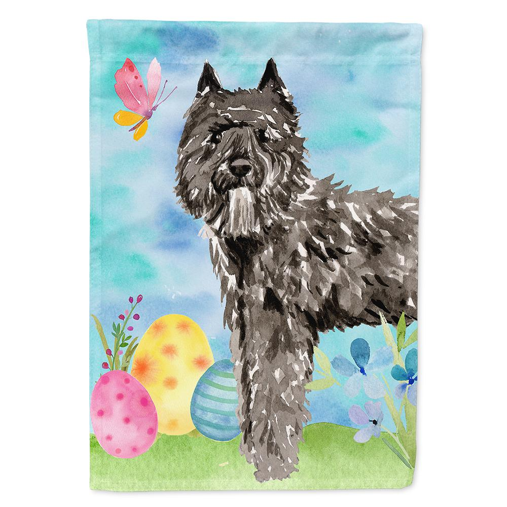 Buy this Easter Eggs Bouvier des Flandres Flag Garden Size CK1922GF