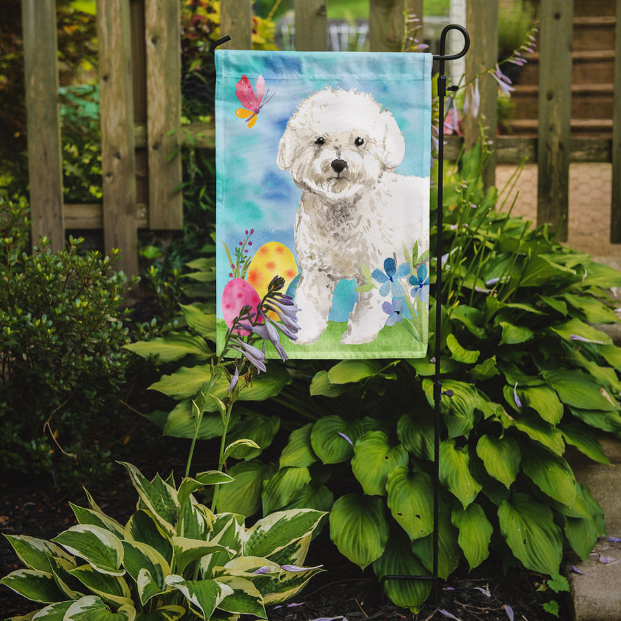 Buy this Easter Eggs Bichon Frise Flag Garden Size CK1925GF