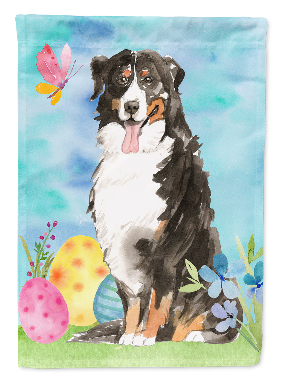 Buy this Easter Eggs Bernese Mountain Dog Flag Canvas House Size CK1926CHF