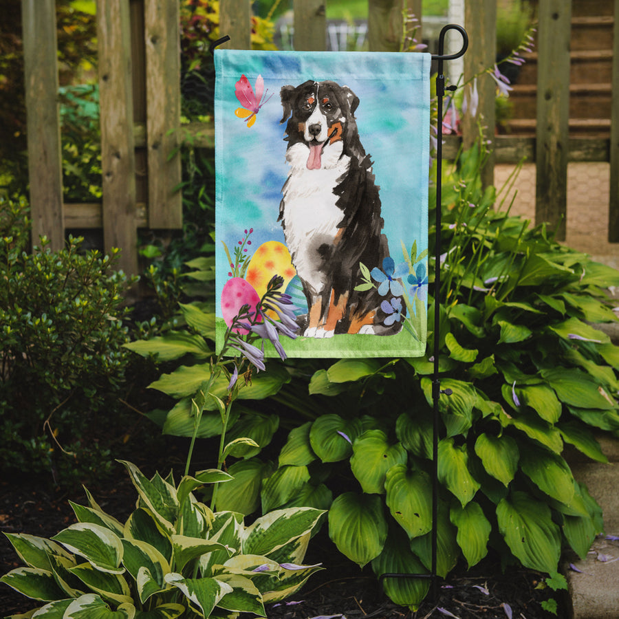 Buy this Easter Eggs Bernese Mountain Dog Flag Garden Size CK1926GF
