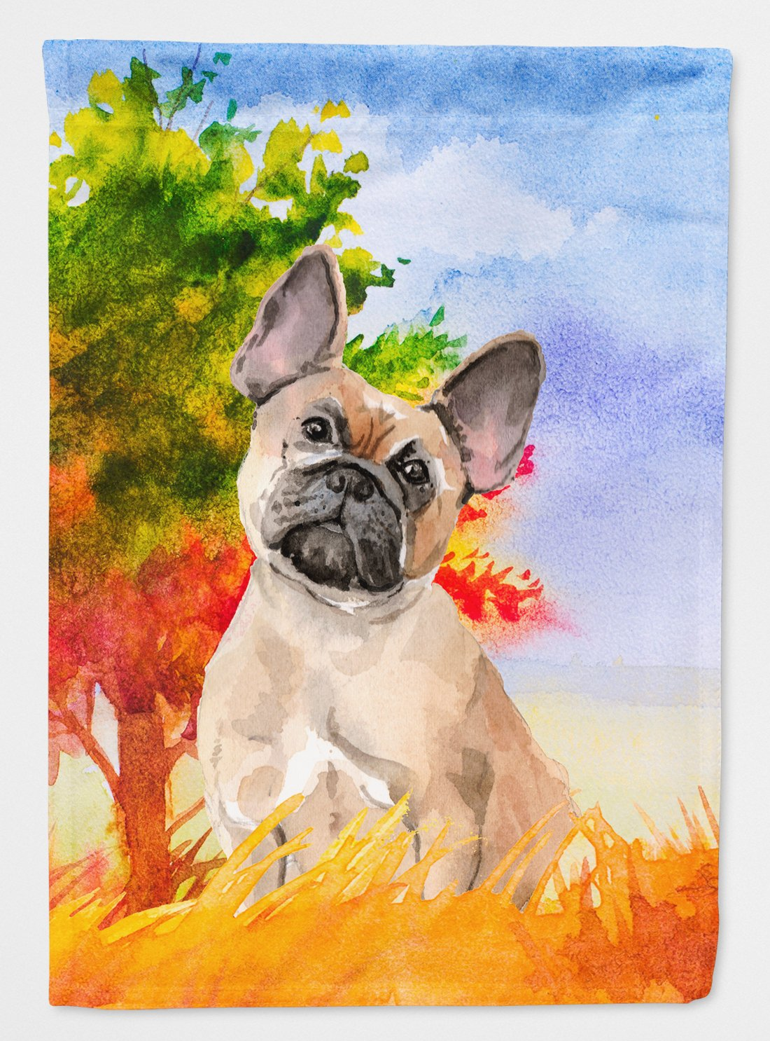 Fall Fawn French Bulldog Flag Garden Size CK1943GF by Caroline's Treasures