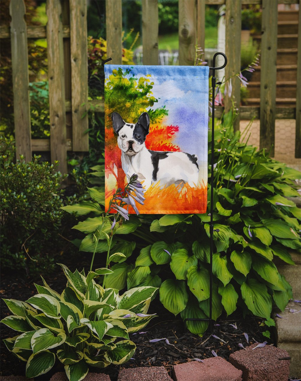 Fall French Bulldog Flag Garden Size CK1956GF by Caroline's Treasures