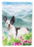 Mountian Flowers French Bulldog Flag Canvas House Size CK1991CHF by Caroline's Treasures