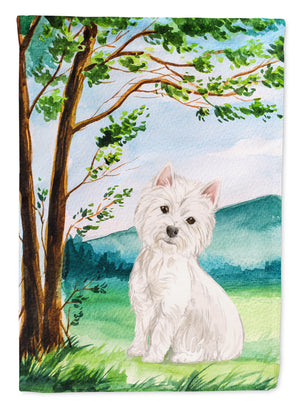 Buy this Under the Tree Westie Flag Garden Size CK2000GF