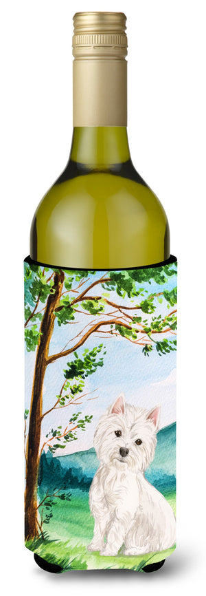 Buy this Under the Tree Westie Wine Bottle Beverage Insulator Hugger CK2000LITERK