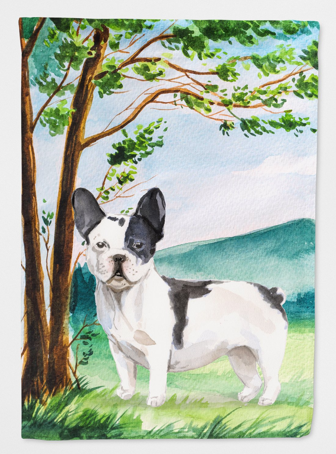 Under the Tree French Bulldog Flag Garden Size CK2026GF by Caroline's Treasures