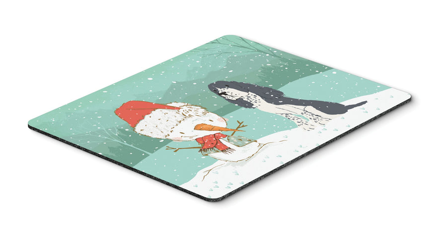 Buy this English Springer Spaniel Snowman Christmas Mouse Pad, Hot Pad or Trivet CK2073MP