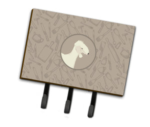 Buy this Bedlington Terrier In the Kitchen Leash or Key Holder CK2167TH68