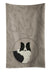 Buy this Border Collie In the Kitchen Kitchen Towel CK2169KTWL