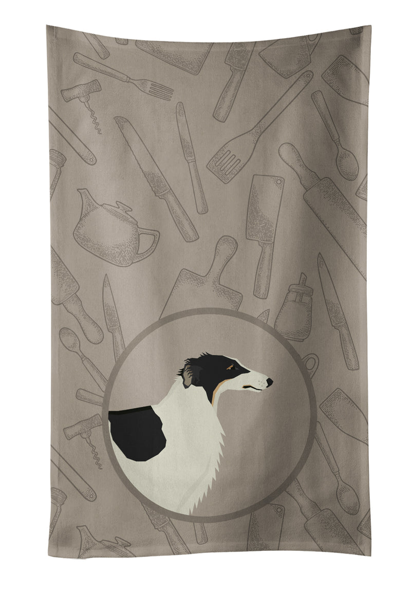 Buy this Borzoi In the Kitchen Kitchen Towel CK2171KTWL