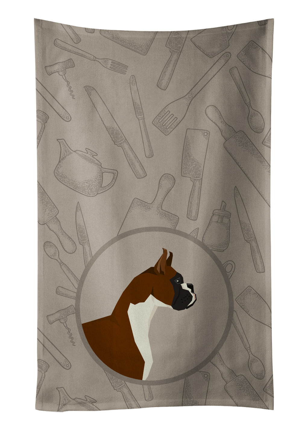 Buy this Boxer In the Kitchen Kitchen Towel CK2173KTWL