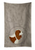 Buy this Cavalier Spaniel In the Kitchen Kitchen Towel CK2176KTWL