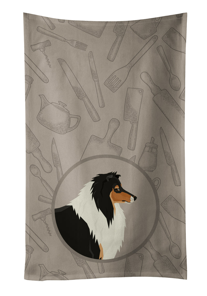 Buy this Collie In the Kitchen Kitchen Towel CK2179KTWL