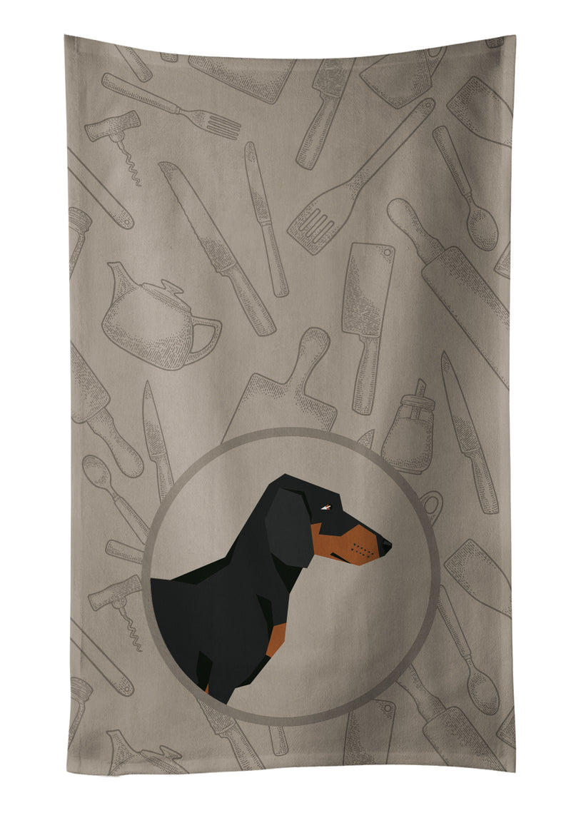 Buy this Dachshund In the Kitchen Kitchen Towel CK2180KTWL