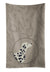 Buy this Dalmatian In the Kitchen Kitchen Towel CK2181KTWL
