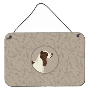 Buy this English Springer Spaniel In the Kitchen Wall or Door Hanging Prints CK2184DS812