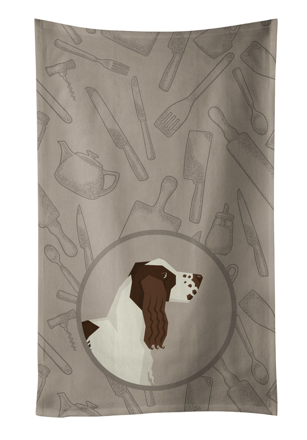 Buy this English Springer Spaniel In the Kitchen Kitchen Towel CK2184KTWL