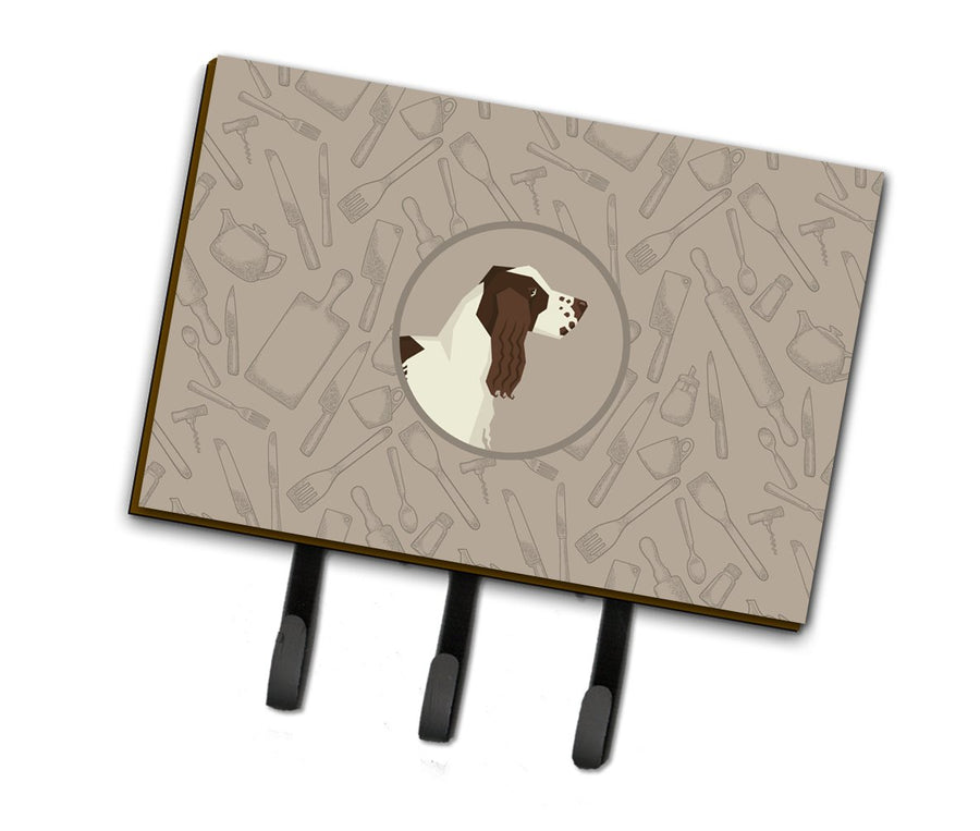 Buy this English Springer Spaniel In the Kitchen Leash or Key Holder CK2184TH68