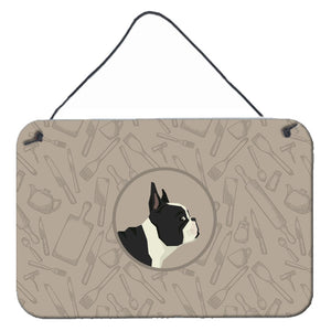 Buy this French Bulldog In the Kitchen Wall or Door Hanging Prints CK2186DS812