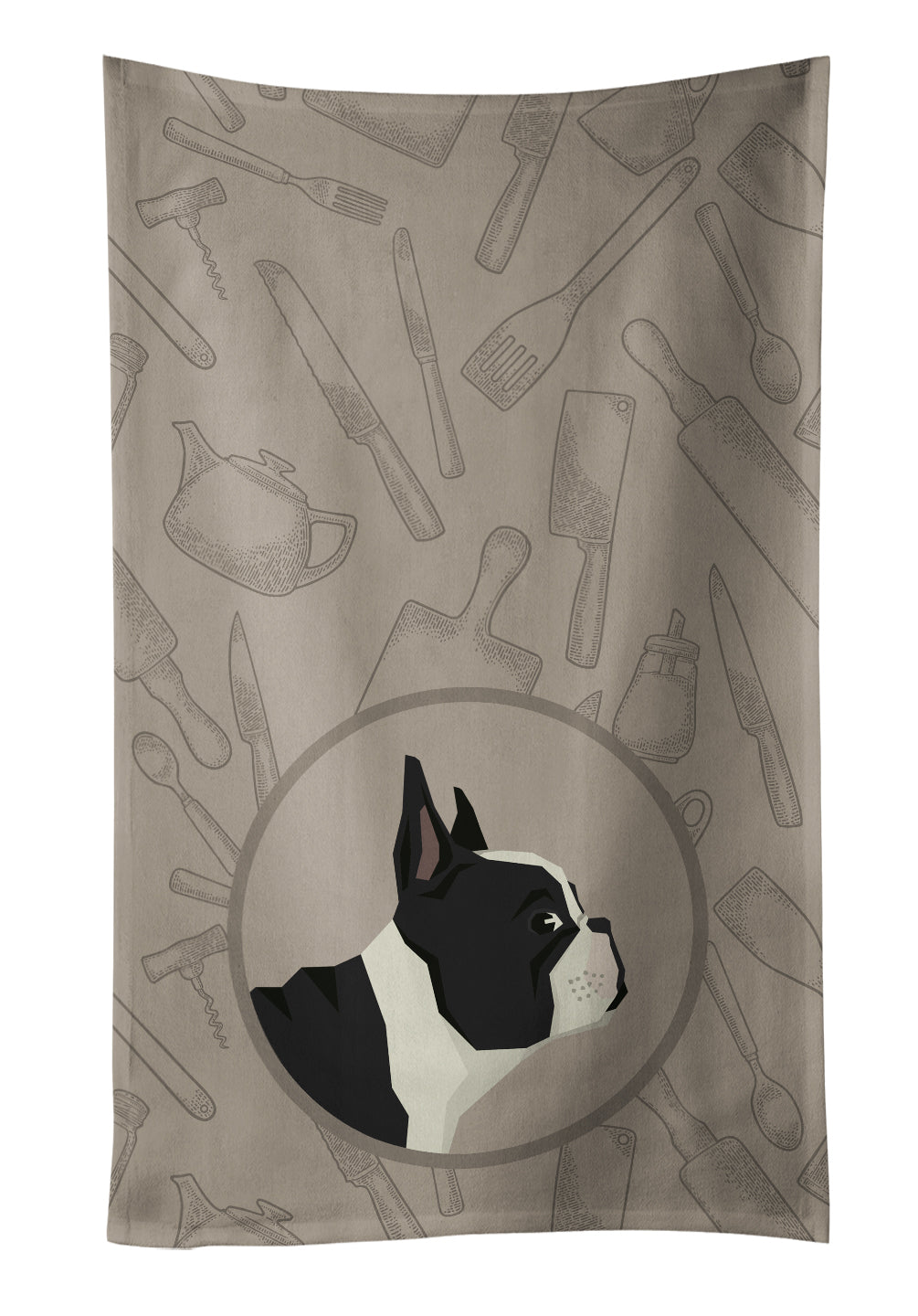 Buy this French Bulldog In the Kitchen Kitchen Towel CK2186KTWL