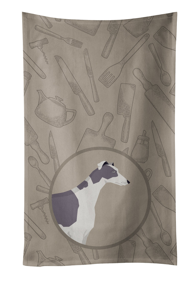 Buy this Greyhound In the Kitchen Kitchen Towel CK2190KTWL