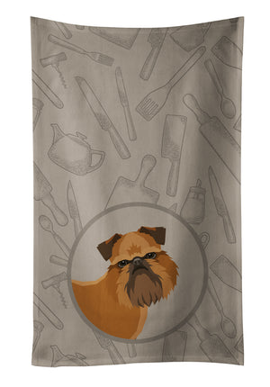 Buy this Brussels Griffon In the Kitchen Kitchen Towel CK2191KTWL