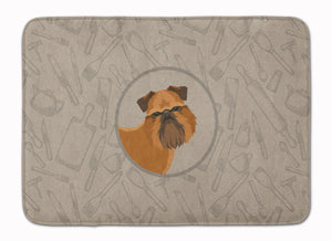 Buy this Brussels Griffon In the Kitchen Machine Washable Memory Foam Mat CK2191RUG