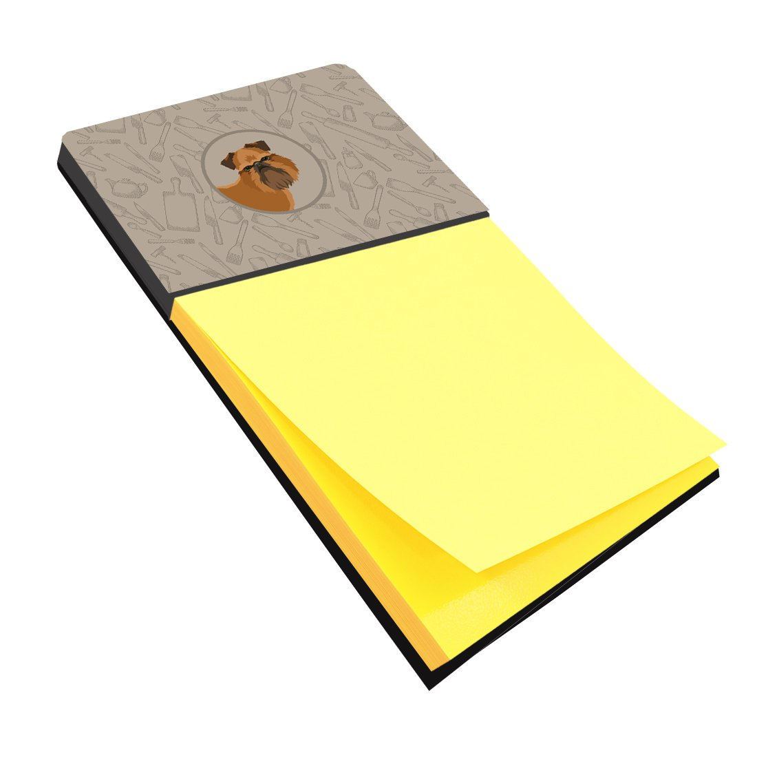 Brussels Griffon In the Kitchen Sticky Note Holder CK2191SN by Caroline's Treasures