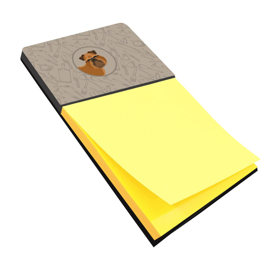 Buy this Brussels Griffon In the Kitchen Sticky Note Holder CK2191SN