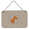Irish Terrier In the Kitchen Wall or Door Hanging Prints CK2193DS812 by Caroline's Treasures