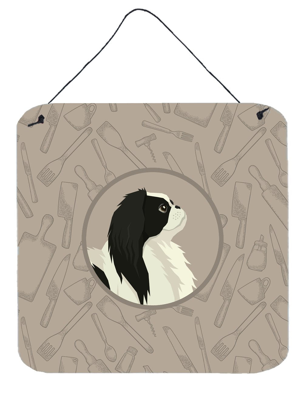 Japanese Chin In the Kitchen Wall or Door Hanging Prints CK2195DS66 by Caroline's Treasures