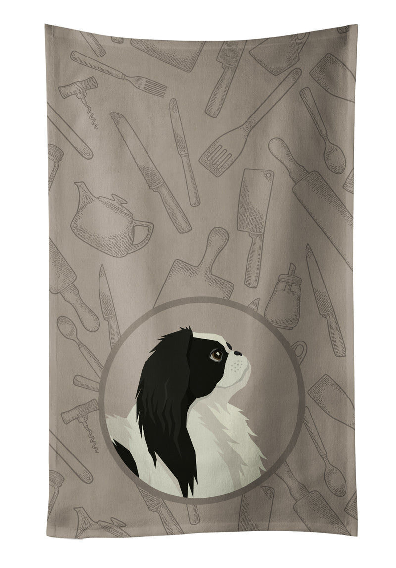 Buy this Japanese Chin In the Kitchen Kitchen Towel CK2195KTWL
