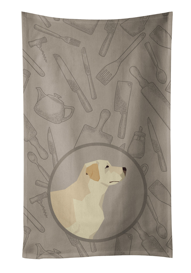Buy this Labrador Retriever In the Kitchen Kitchen Towel CK2196KTWL