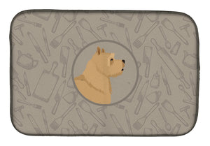 Buy this Norwich Terrier In the Kitchen Dish Drying Mat CK2198DDM