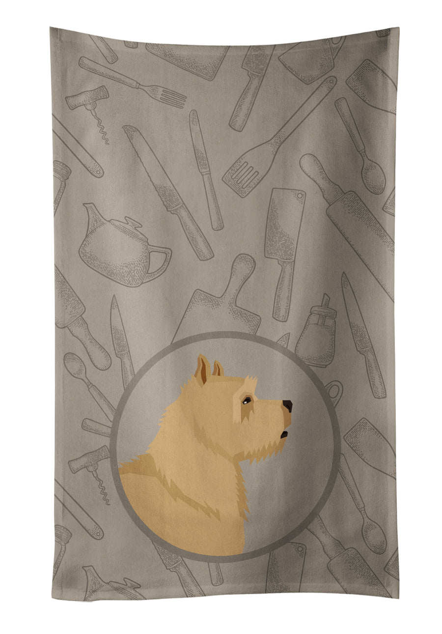 Buy this Norwich Terrier In the Kitchen Kitchen Towel CK2198KTWL
