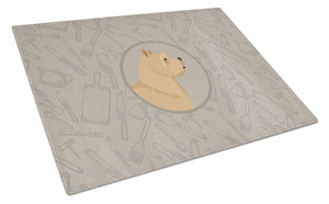 Buy this Norwich Terrier In the Kitchen Glass Cutting Board Large CK2198LCB