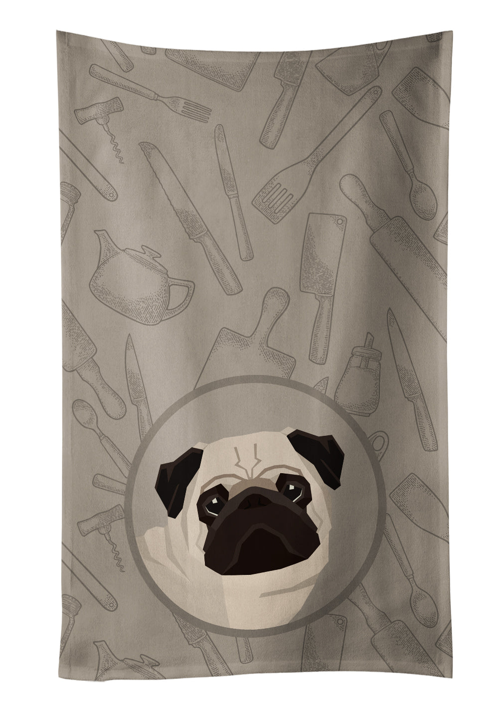 Buy this Pug In the Kitchen Kitchen Towel CK2204KTWL